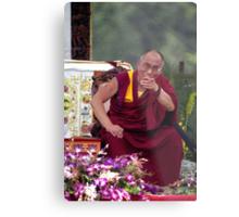 His Holiness the Dalai Lama - Washington D.C.  A.D.  2000 Metal Print