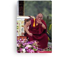 His Holiness the Dalai Lama - Washington D.C.  A.D.  2000 Canvas Print