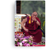 His Holiness the Dalai Lama - Washington D.C.  A.D.  2000 Canvas Print