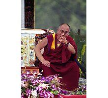 His Holiness the Dalai Lama - Washington D.C.  A.D.  2000 Photographic Print