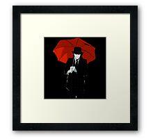 Mayday Parade Red Umbrella Framed Print
