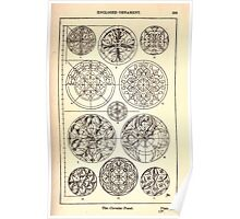 A Handbook Of Ornament With Three Hundred Plates Franz Sales Meyer 1896 0275 Enclosed Ornament Circular Panel Poster