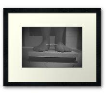 weightless Framed Print