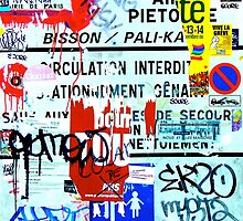 """""""Paris in Primary Colours"""", Paris, France by Jennii Booth"""