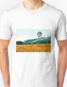 Outback windmill in Queensland, Australia Unisex T-Shirt