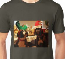 Do We Have To Wear These Silly Hats?  -Boxer Dogs Series- Unisex T-Shirt