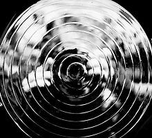Chrome Spiral Photographer by Bob Larson