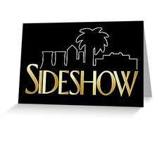 Sideshow Crane Greeting Card