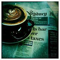 Coffee Break by Lorraine Creagh