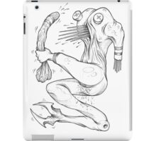 dick grabber iPad Case/Skin