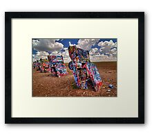 The Cadillac Ranch Framed Print