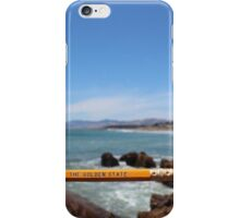 The Golden State iPhone Case/Skin
