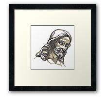 Jesus No 1 Framed Print