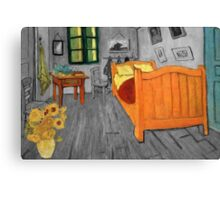 Vincent van Gogh - Sunflowers in the Bedroom at Arles Canvas Print