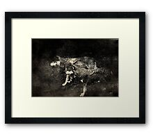 The tribesmen Framed Print