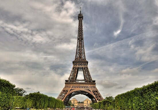 Eiffel Tower by Tarek Solh