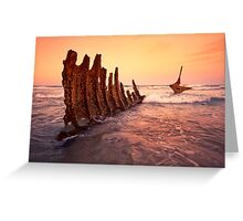 S.S Dicky Shipwreck Greeting Card