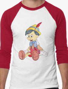 Pinocchio Men's Baseball ¾ T-Shirt