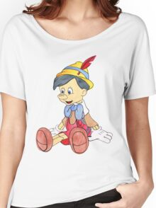 Pinocchio Women's Relaxed Fit T-Shirt