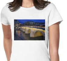Pont Neuf Bridge - Paris, France Womens Fitted T-Shirt