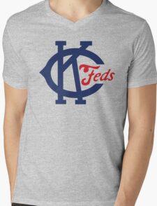Kansas City Packers Mens V-Neck T-Shirt