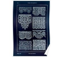 A Handbook Of Ornament With Three Hundred Plates Franz Sales Meyer 1896 0208 Free Ornaments Lace Border Inverted Poster