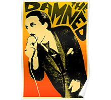 Dave Vanian - The Damned Tour Poster Poster