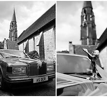 Wedding Car Diptych by verwoody