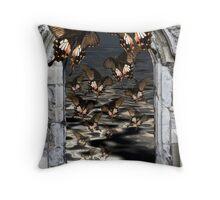 Swallowtail Migration Throw Pillow