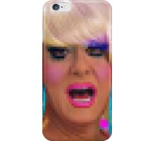 """Drag Diva """"Lady Bunny"""" By HRHSF In Pixels  iPhone Case/Skin"""