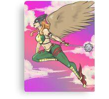 Hawkgirl Canvas Print