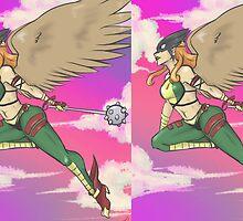 Hawkgirl by RenaInnocenti
