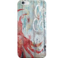 New Orleans Crab Cakes Restaurant Sign iPhone Case/Skin