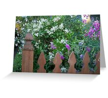 A Neighborhood Garden Greeting Card