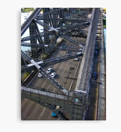 Above The Coathanger Canvas Print