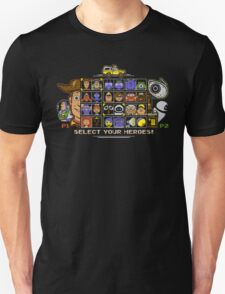 Pixel Animation Fighter T-Shirt