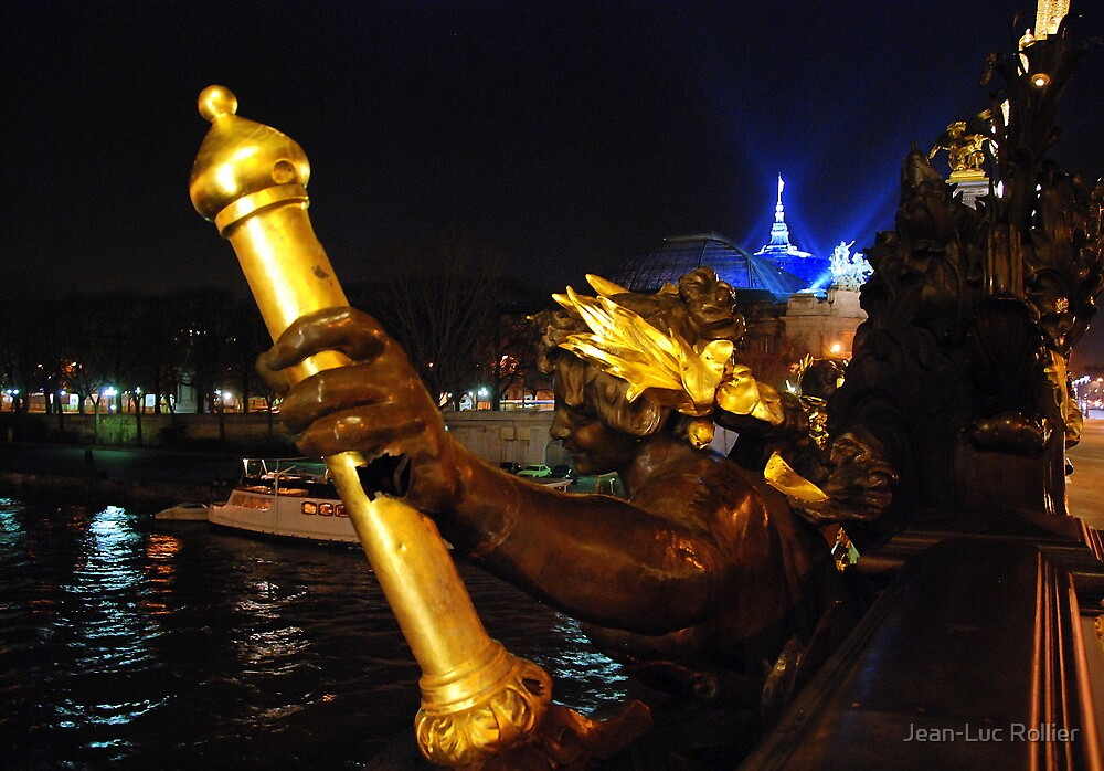 Paris - Pont Alexandre III. by Jean-Luc Rollier