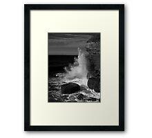 Fossil Bay, Tasmania Framed Print