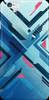Geometric - Collage Love by erdavid