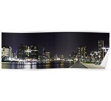 Melbourne, Docklands Poster