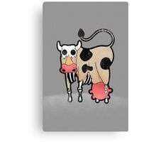 Zombie Cow Canvas Print