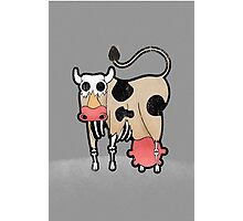 Zombie Cow Photographic Print
