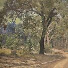 Country scene textured by julie anne  grattan