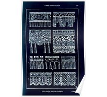 A Handbook Of Ornament With Three Hundred Plates Franz Sales Meyer 1896 0207 Free Ornaments Fringe Valence Inverted Poster