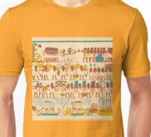 Great Funeral Procession of a Royal Scribe at Thebes Unisex T-Shirt