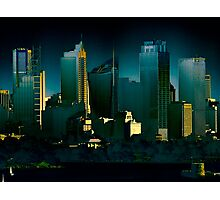 Eastern City Skyline - Sydney CBD Photographic Print