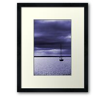 Shelter from the Evening Storm Framed Print