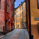 Alley Way II - (The Old City) Stockholm, Sweden by Mark Richards