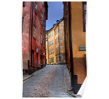 Alley Way II - (The Old City) Stockholm, Sweden Poster