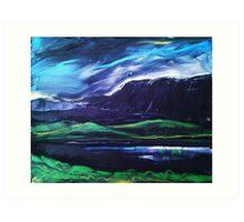 'Llyn Cregennan and Cadair Idris' Art Print
